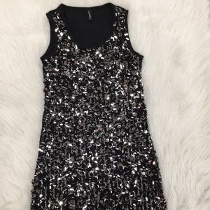Black Glam Dress, Small